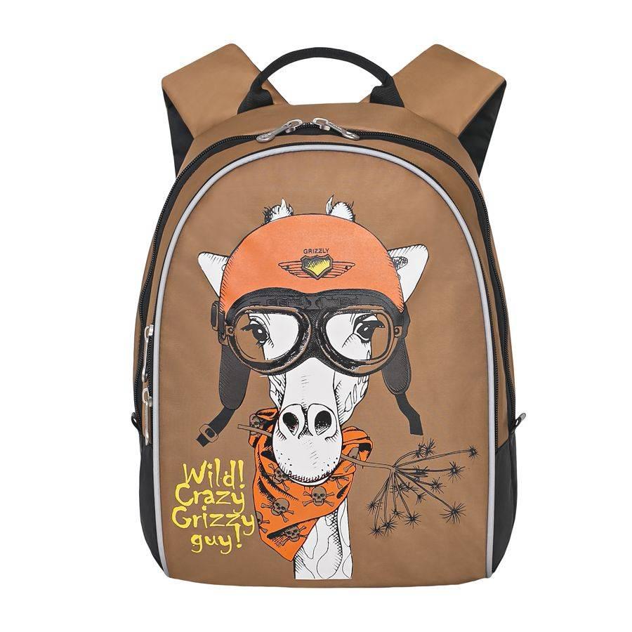 5a0831c7 Детский рюкзак Grizzly RS-734-2 бежевый купить по цене 1 398 руб. в ...