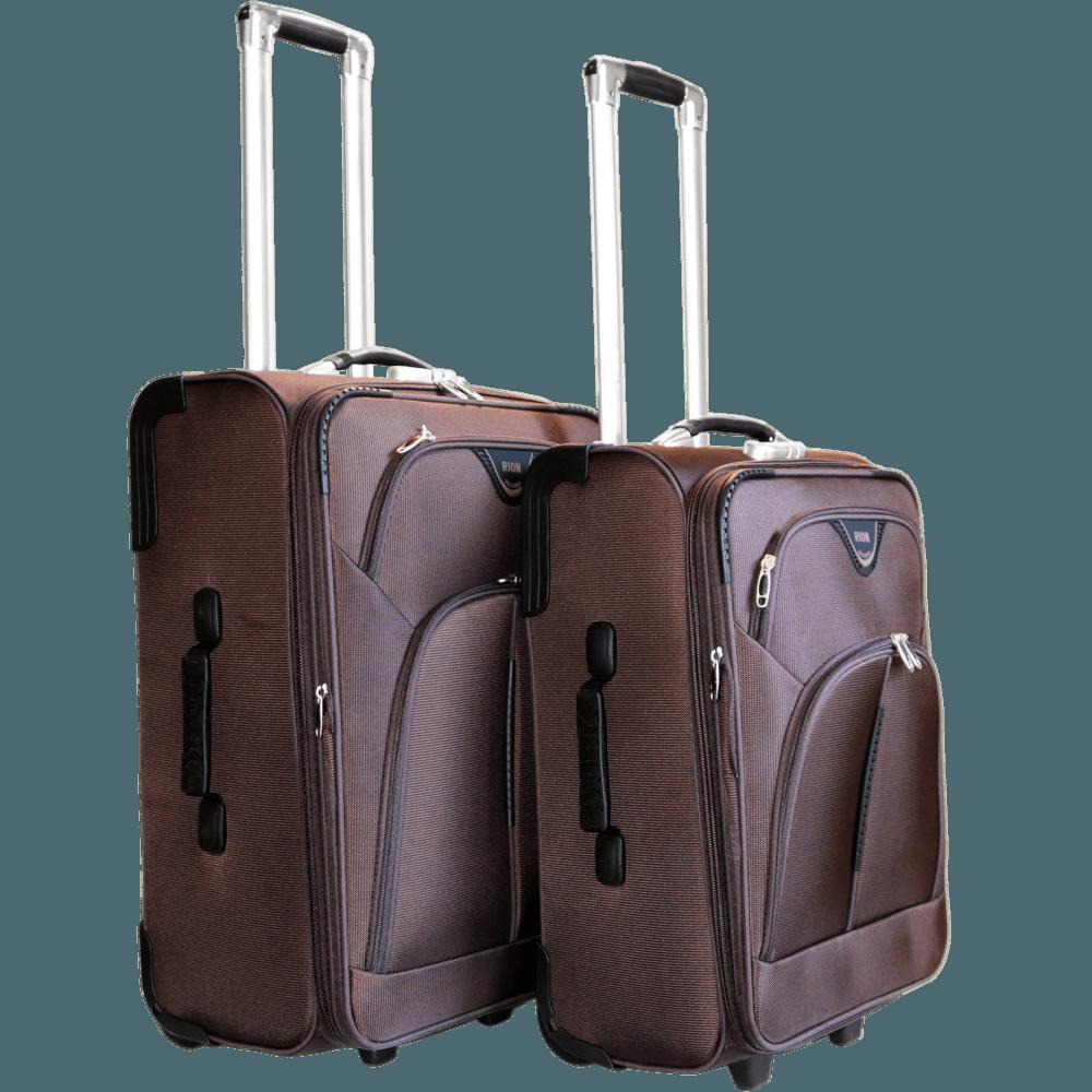 24c987554b41 Чемодан Rion 411 коричневый средний 22 дюйма купить по цене 4 690 ...