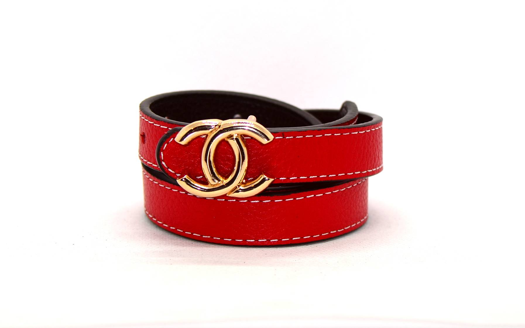 e02f77663d4b Женский ремень Chanel CH20W101 красный