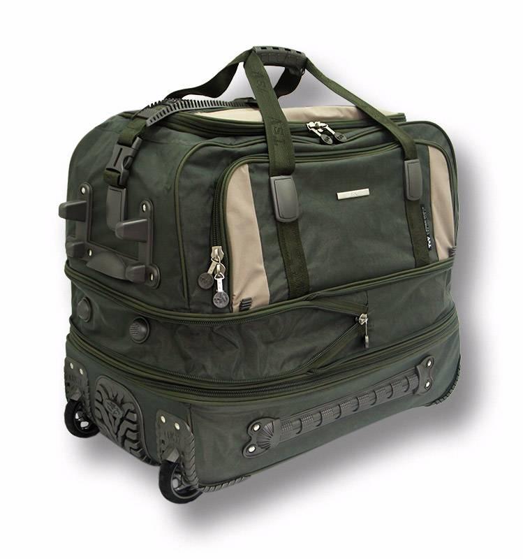 51301c706af5 Дорожная сумка на колесах TsV 405.23 хаки купить по цене 5 270 руб ...